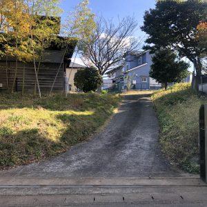 南西側敷地入口